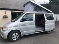 Mazda Bongo Campervan with pop-up roof.