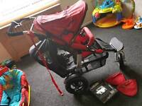 Joggster twister double buggy special needs buggy