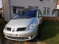 RENAULT Grand Espace. 7 seater. Nice family car.6 speed. £3970