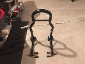Paddock stand front and rear *motorbike*