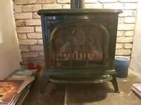 Gazco ashton green enamel gas stove