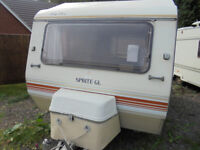 Sprite Alpine 3/4 Berth Touring Caravan With Rear Dinette - Includes Awning!!!
