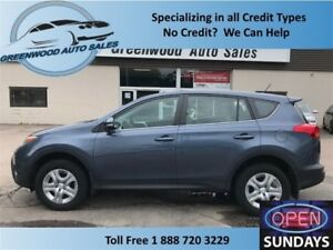 2014 Toyota RAV4 LE! AWD! LOW KM (38801)! GREAT PRICE!