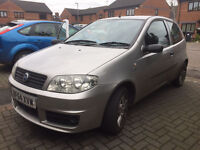 Car for sale, fiat punto with low mileage, female driver, 2004yr, good condition in and out