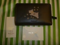 Brand New Radley Leather Purse Wallet with Dust Bag Black