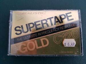 Realistic Supertape Gold C120 Hornsby Hornsby Area Preview