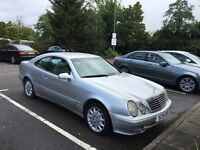 Mercedes clk 200 2002 excellent condition in and out very smooth car