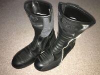Motorbike boots size 11