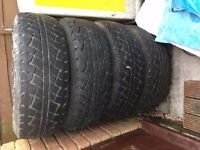 Landrover Discovery 1 - 4 Alloy wheels and Tyres