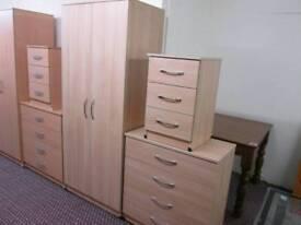 Light Oak Wardrobe Set