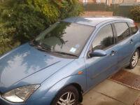 Ford Focus, 2001, petrol, 500£