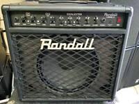 Randall rg80 guitar amp