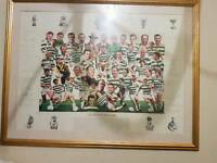 Celtic legends signed photo