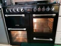 Leisure dual fuel range cooker