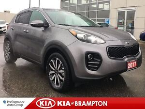 2017 Kia Sportage EX PREMIUM AWD LEATHER PANO ROOF BACK UP CAMER