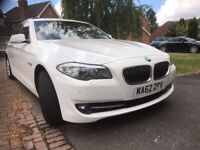 BMW520D WITH FULL BMW SERVICE AND MOT DONE ON SEP2017, 94K