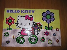 Hello Kitty Puzzle 58cms by 38.5cms all parts there as in photo
