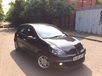 2006 06 REG RENAULT CLIO DYNAMIQUE 5 DOOR HATCHBACK TAX & TESTED *** BARGAIN***