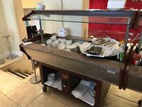 Hot buffet display - used