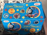 Thomas & friends story library (50books) extra books, Tidmouth station and Trains