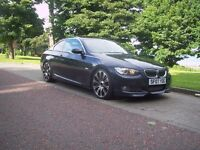 BMW 335I TWIN TURBO, M3 REPLICA 69000 MILES WITH FULL SERVICE HISTORY, COUPE