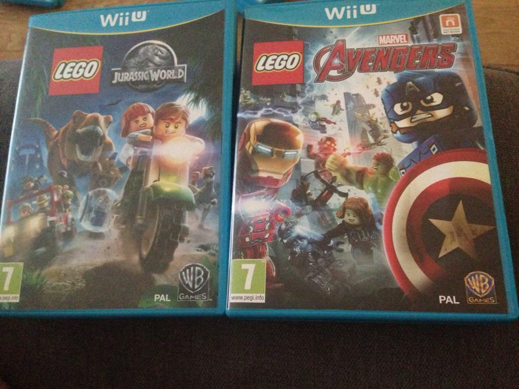 Lego Jurassic World And Lego Avengers In Castle Bromwich West