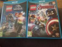 Lego Jurassic world and lego avengers