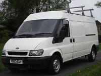 Ford transsit 2.4 TD 350 LWB Medium Roof Van