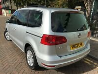 VW Sharan 2012 (62reg) Diesel, Automatic, One Owner, Full VW Service History, Parking Sensors.......