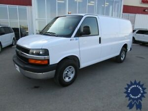 2016 Chevrolet Express G2500 Cargo Van w/Rear Heater 11,288 Kms
