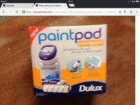 Compact paint pod