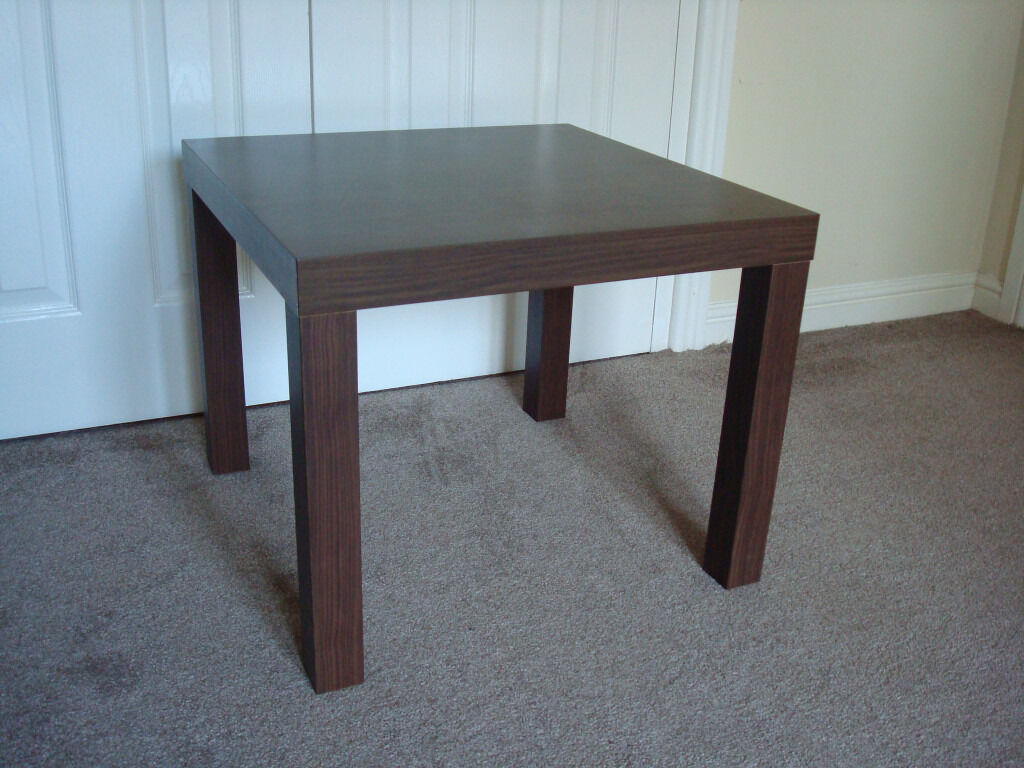 IKEA LACK SIDE TABLE WALNUT