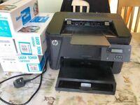 HP 201dw Laser Printer, b/w duplex