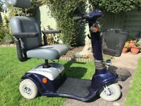 Mobility Scooter new batteries.variable speed