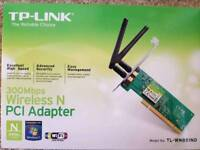 TP Link PCI Wireless network card 300mb