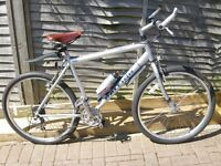 Vintage RALEIGH MAX CROMO 2 Silver 19 all terrain Bike in near mint condition with BROOKES saddle