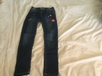 Jeans girl age 9 years never worn