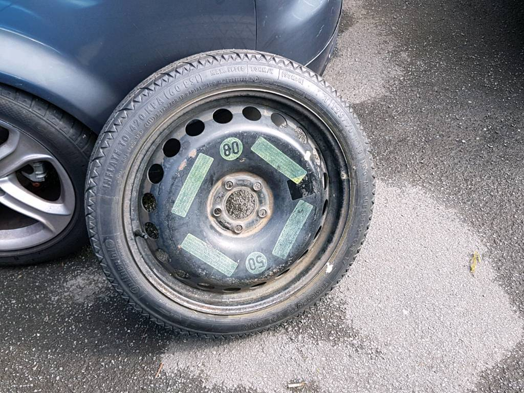 audi 19inch space saver tyre