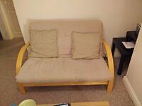 Futon couch sofa