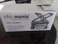 Eko-mania Paper Log Maker