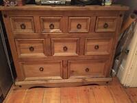 Urgent sale - Lovely solid wood Sideboard unit