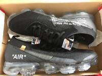 Nike air vapormax x off white (black)