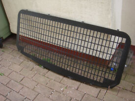 REAR SECURITY SCREEN FOR TRAFIC VIVARO VANS