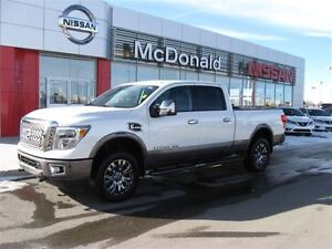 2016 Nissan Titan XD Platinum Reserve.Full Frontal 8mm rock guar