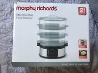 Morphy Richards Stainless Steel Food Steamer