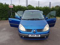 Renault Grand Scenic 1.6 Petrol 2004 2 keepers only 42000 miles very good condition