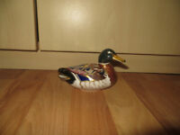 Royal Crown Derby duck, Crown Derby Mallard duck