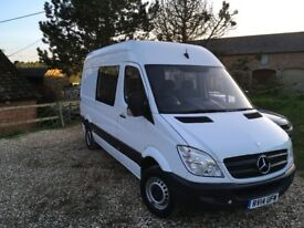 2014 Mercedes sprinter six seater day van