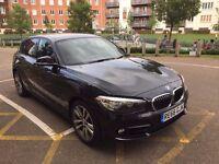 BMW Series 1 118i Sports 5 door with Sat Nav