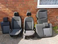 Ford Fiesta Pre-facelift seats